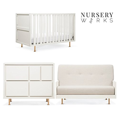 Nursery Works Novella Complete Nursery Collection in Dune White by Nursery Works