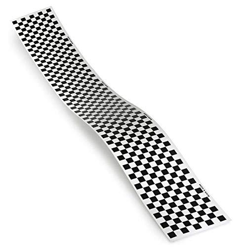 Top Flite Trim MonoKote Checkerboard Black, TOPQ4114