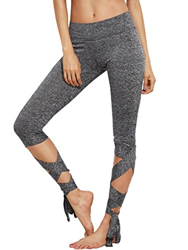 SweatyRocks Womens Leggings Waisted Workout
