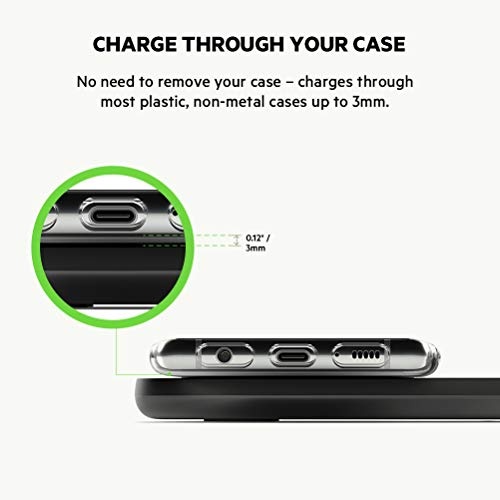 Belkin Dual Wireless Charger (Dual Wireless Charging Pad 10W for iPhone 11, 11 Pro, 11 Pro Max, Galaxy S20, S20+, S20 Ultra, Pixel 4, 4XL, AirPods and more), Black