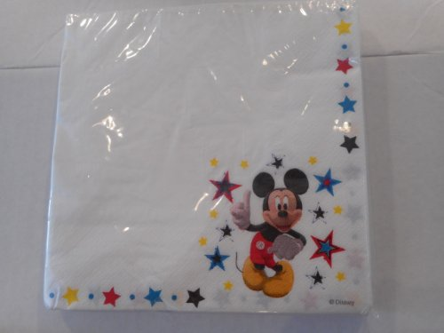 Disney Mickey Mouse Lunch (Disney Napkins)