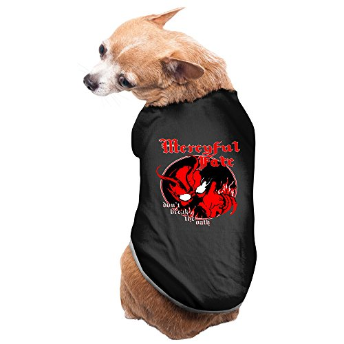 Mercyful Fate Speed Metal Pet Supplies Big Dog Clothing Charming Cozy Pet Accessories