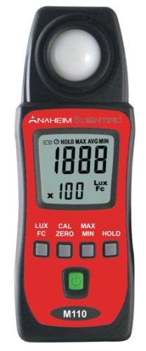 Anaheim Scientific M110 Mini Light Meter with LCD (Mini Photometer)
