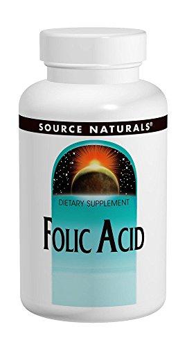 SOURCE NATURALS Folic Acid 800 Mcg Tablet, 1000 Count For Sale