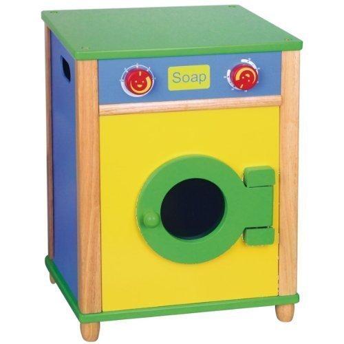 Tiktaktoo Kinder Waschmaschine aus Naturholz