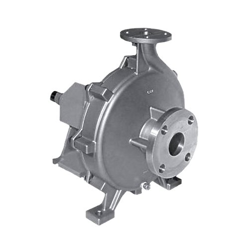 MP Pumps 34548 Chemflo 9 End Suction Centrifugal Pump 316 Stainless Steel, Pedestal, 9.95