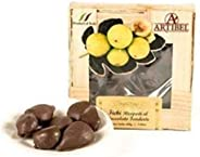 Artibel Figs with Almond Covered in Chocolate 200g, Made in Italy