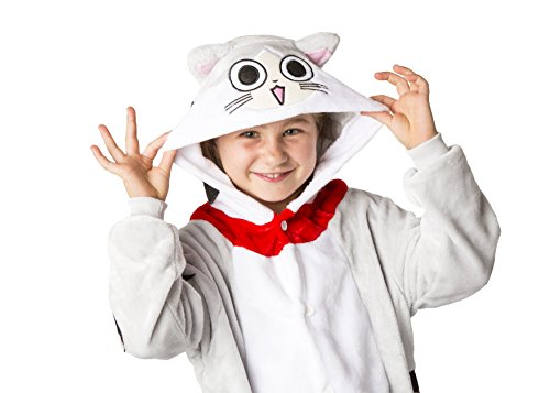To Costumes Cat Make Children's (Ultra Soft Unisex, Boys, Girls Pajamas Kigurumi Costume for Kids (Large,)