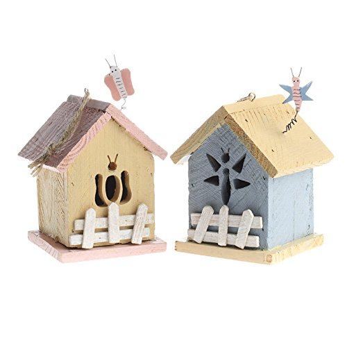 Wooden Bird Ornament - 2