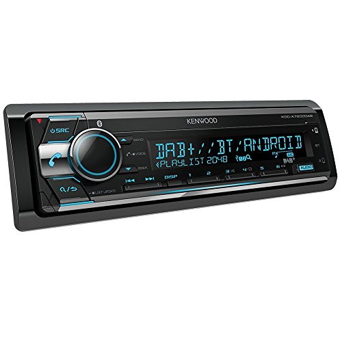 Kenwood KDCX7200DAB CD Receiver with Built-in Bluetooth and DAB/Radio