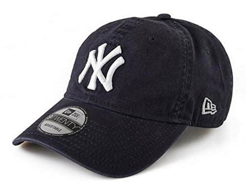 sneakers for cheap 3f057 facd3 New Era New York Yankees 9Twenty MLB Core Classic Adjustable Hat - Navy  from New Era
