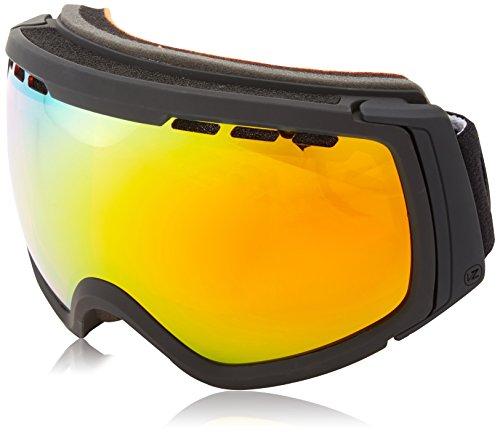 VonZipper Feenom NLS Goggles, Black Satin, Fire Chrome - Zipper Feenom Von Lenses