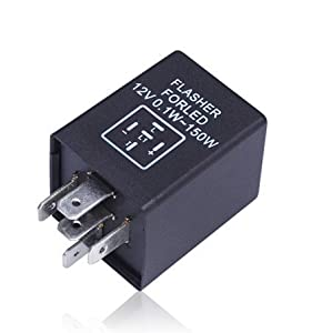 Amazon Com Luyed 5 Pin 5 Pin Ep27 Fl27 Led Electronic Flasher Relay Used For For Led Turn
