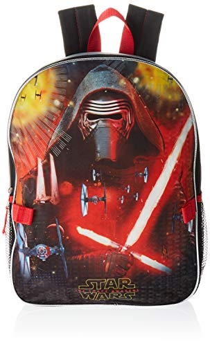 Disney Star Wars Gray Kylo Ren Backpack with Lunch Box,,