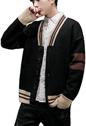 メンズ セーター カーディガン セーター 長袖 カジュアル 柔らかい ストレッチ ニット 春 秋 冬 M-3XL