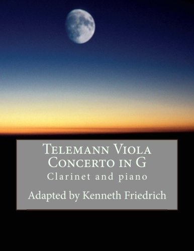 Telemann Viola Concerto in G - clarinet and piano