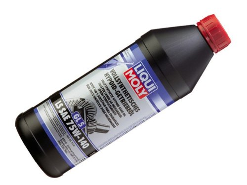 BMW ( 00 – 12 / / M ) Differential Oil ( 500ml )合成Liqui Moly 75 W-140 Diff Flui B00EE23O58