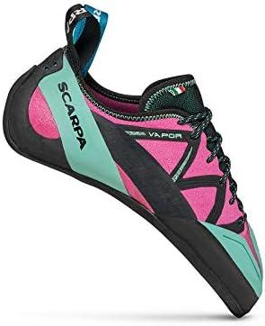 SCARPA Women's Vapor Climbing Shoes Dahlia/Maldive 37