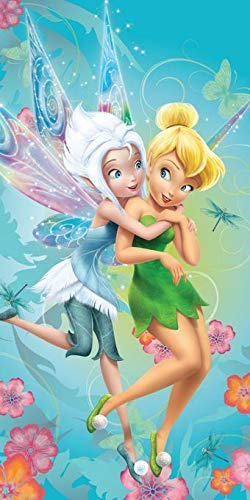 Disney Fairies Tinkerbell Secret Wings Large Beach Towel By BestTrend®