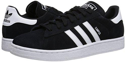 black 11 Campus Scarpa Della Bianco Foschia M Adidas Tennis Black Us white Originals Ardesia Nero Moda Da CaxqRw4