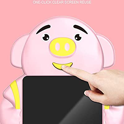 Afazfa 8.5inch Electronic LCD Writing Tablet Pad Office Memo Home Message Kids Drawing (Pink): Clothing