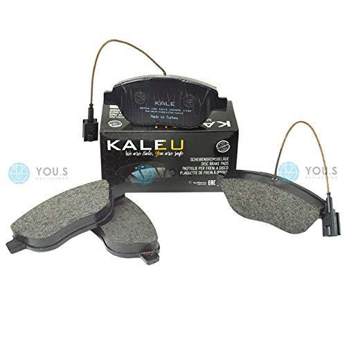 Kale 77363420 Front Axle Set of Brake Pads Brake Pads: