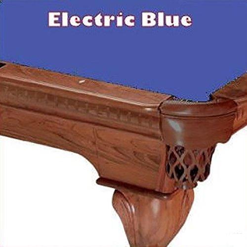 8' Oversize Electric Blue ProLine Classic 303 Teflon Billiard Pool Table Cloth (21 Oz Electric Blue Felt)