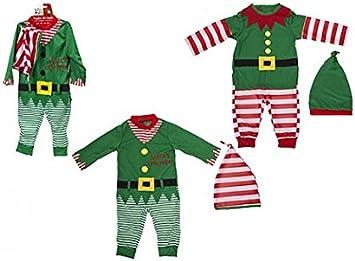 Equipo del Duende de la Navidad del niño / del bebé. Romper y ...