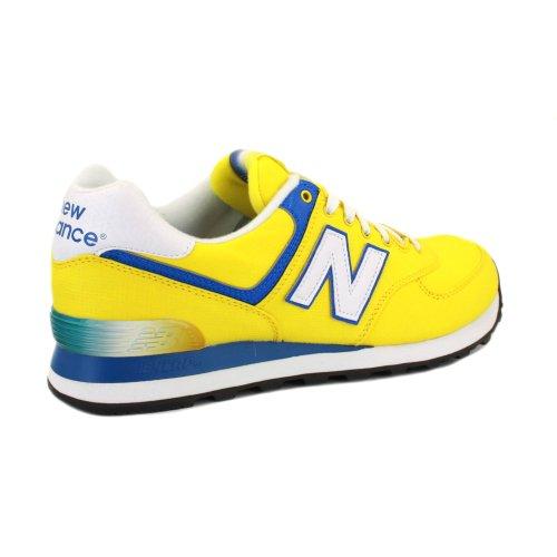 deportivas hombre new balance amarillas