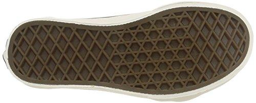 Vans K Sk8-hi Zip Mte - Zapatillas de estar por casa Unisex niños Mte/Honey/Leather