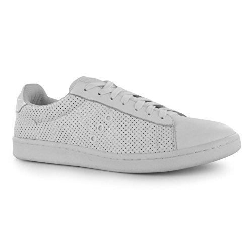 Firetrap Serpent décontracté Baskets pour homme Blanc Baskets mode Sneakers Chaussures