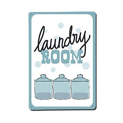 Toddrick Laundry Room Novelty Inches Cartel de Chapa Estilo ...