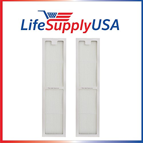 - LifeSupplyUSA 2 Pack Replacement True HEPAtech Air Purifier Filter for Hunter 30973 fits Fits 30890 30891 30892 30895 30405