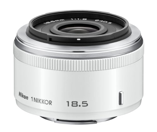 Nikon 1 NIKKOR 18.5mm f/1.8 (White)