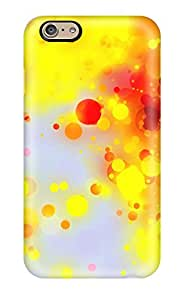 Excellent Iphone 6 Case Tpu Cover Back Skin Protector Glittery Paint Splatter
