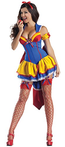 Ace Halloween Adult Women's Sexy Snow White Princess Costumes (Sexy Adult Disney Princess Costumes)