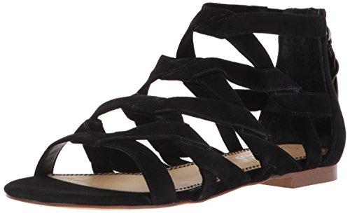 Prachtige Vrouwen Barrett Flat Sandaal Zwart