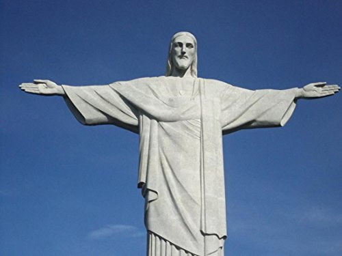 Gifts Delight LAMINATED 32x24 inches Poster: Statue Christ Christ The Redeemer Corcovado ()