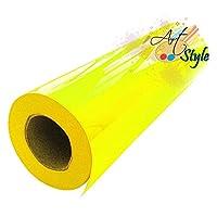 Vinil Textil Amarillo Canario