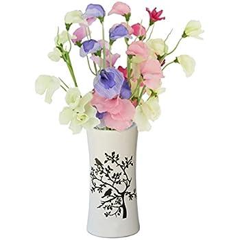 Amazon Souvnear Birds Tree 69 Ceramic Flower Vase