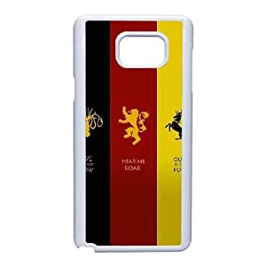Samsung Galaxy Note 5 Cell Phone Case White Game of Throne F6704179