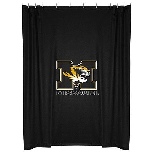 Tigers Ncaa Shower Curtain - NCAA Missouri Tigers Shower Curtain