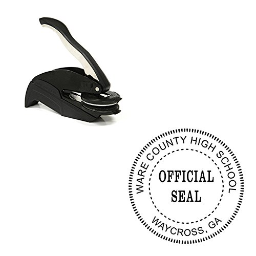 Official Seal Embosser - Custom Official Seal Embosser by Holmes Stamp & Sign