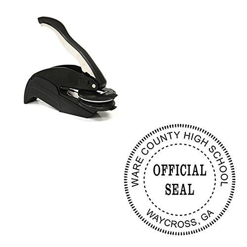 Desk Embosser - Official Seal Embosser - Custom Official Seal Embosser
