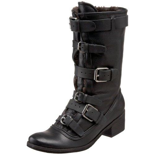 Dolce Vita Womens Bertie Mid-Calf Boot Black yRIKMTA2