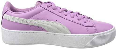White Donna Viola Puma L Platform smoky Grape Sneaker Vikky wnqBPp
