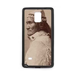 Chiricahua Apache Geronimo Samsung Galaxy Note 4 Cell Phone Case Black DIY GIFT pp001_8133781