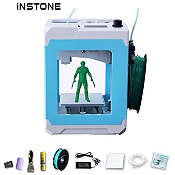 instone easier 3d printer kit with instone slice software tf card