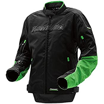 Amazon.com: Kawasaki Gray Racing Team Leather Jacket ...