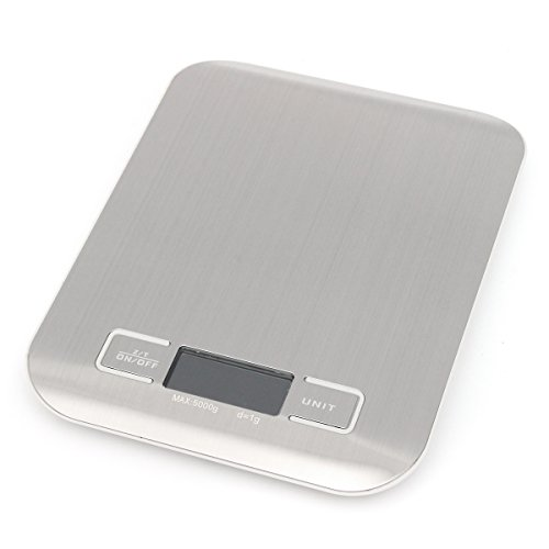5kg 1g LCD Digital Scale Electronic Kitchen Weight Tool(WHITE) - 6